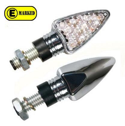 CLEVER ΦΛΑΣ ΜΕ LED 0116 DART CHROME