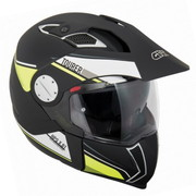 GIVI ΚΡΑΝΟΣ ΠΟΛΥΜΟΡΦΙΚΟ (full face & jet) X01 TOURER BLACK FLUO