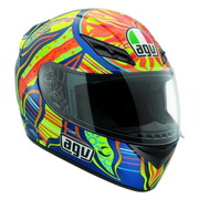 FULL FACE ΚΡΑΝΟΣ AGV K3 FIVE CONTINENTS TOP