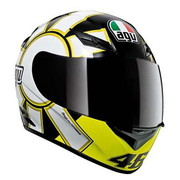 ΚΡΑΝΟΣ FULL FACE AGV K3 TOP GOTHIC BLACK