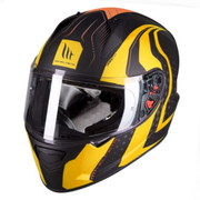 FULL FACE ΚΡΑΝΟΣ MOTO MT STINGER WARHEAD MATT BLACK -YELLOW