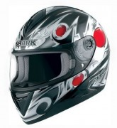 SHARK ΚΡΑΝΟΣ FULL FACE S650 PRECIOUS BLACK RED
